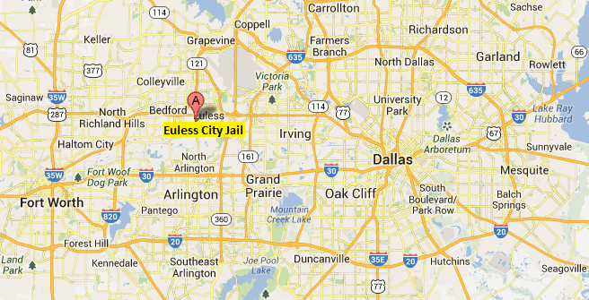 Euless City Jail Map