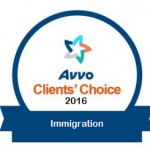 Avvo Awards VERDIN 10 out of 10 of Clients' Choice Award, Again!