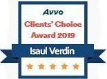 Isaul Verdin AVVO Clients Choice Award 2019