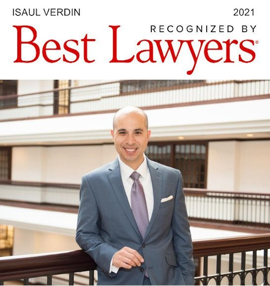 Isaul Verdin, Dallas Immigration Lawyer -Best Lawyers in America 2021 Recognition